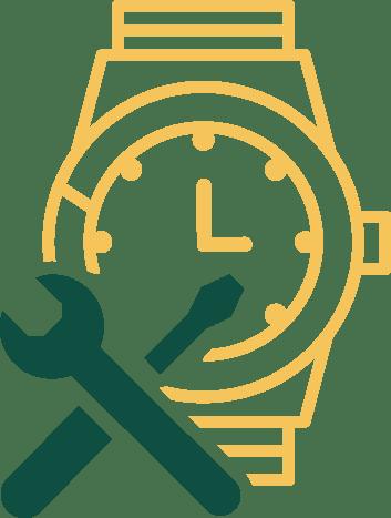 Horloge <br>service & onderhoud